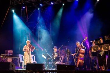 SAFED, ISRAEL - AUGUST 15, 2016: Klezmer Festival in Zefat