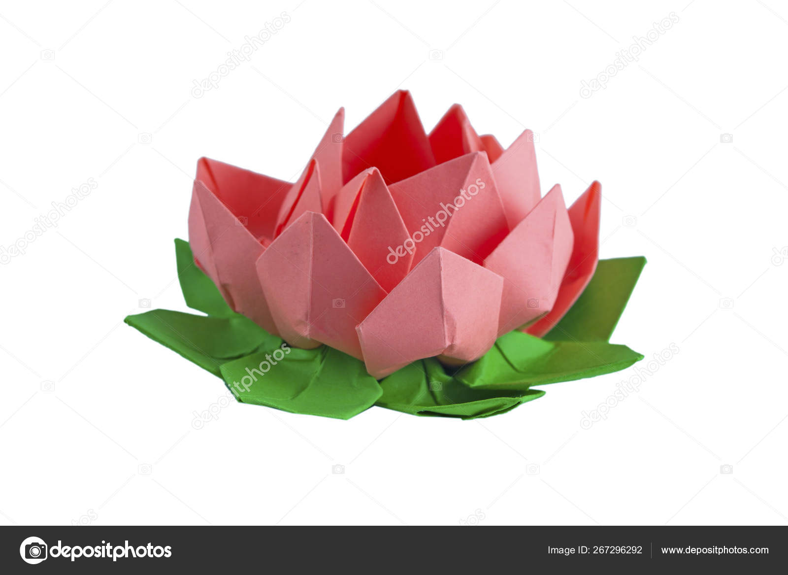 Incredible Origami Lotus Flower - Instructions & Video Tutorial ... | 1167x1600