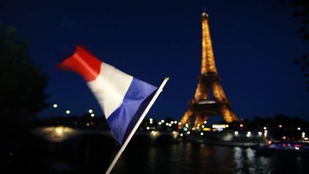 PARIS - October 8, 2016: Tour de Eiffel on December 29, 2011 in Paris. Built in 1889. One of the most recognizable structures in the world. Located on the Champ de Mars. Nickname La dame de fer.