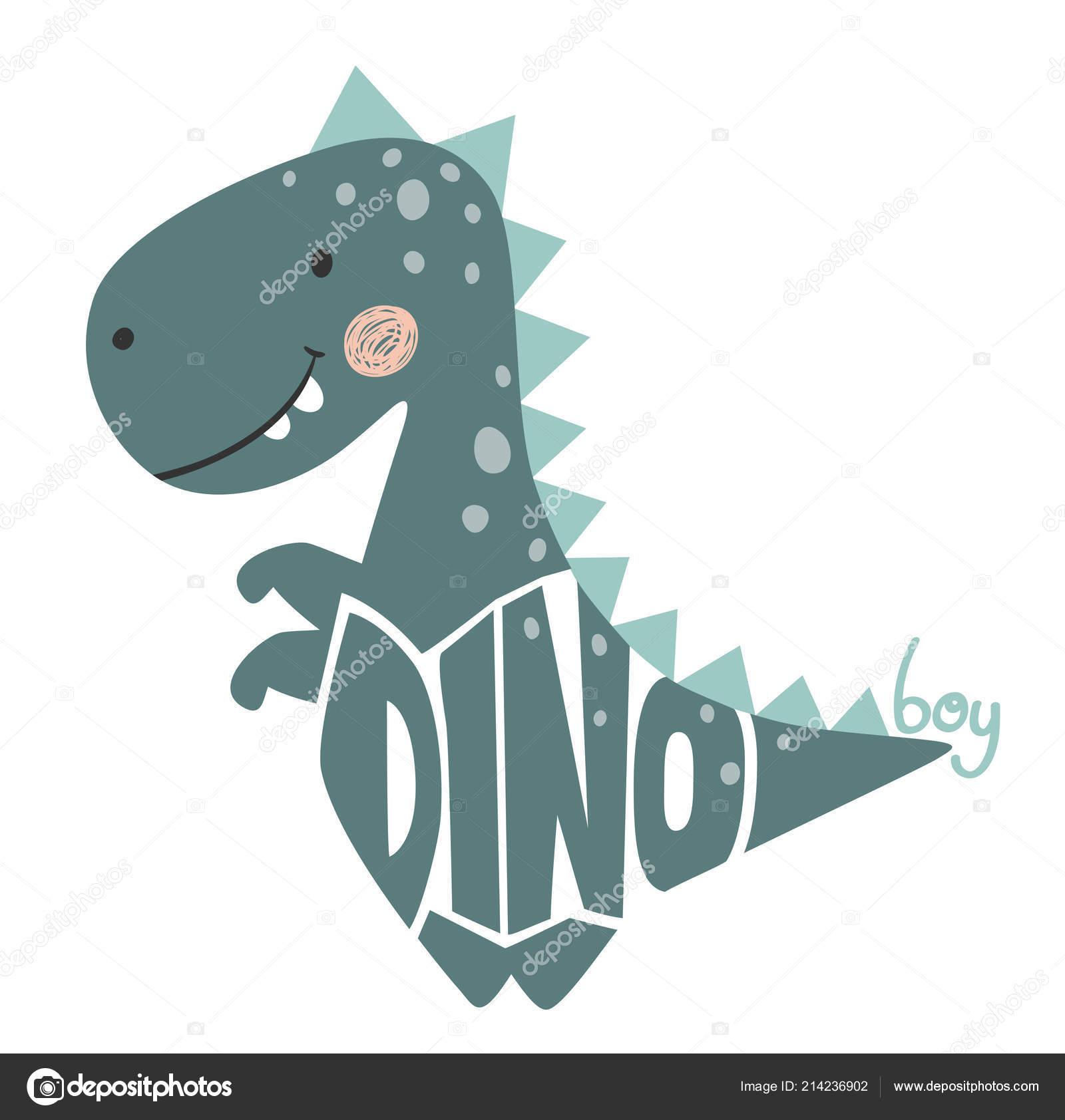 Dinosaurier Baby Süß Drucken Dino Junge Slogan Und Schriftzug
