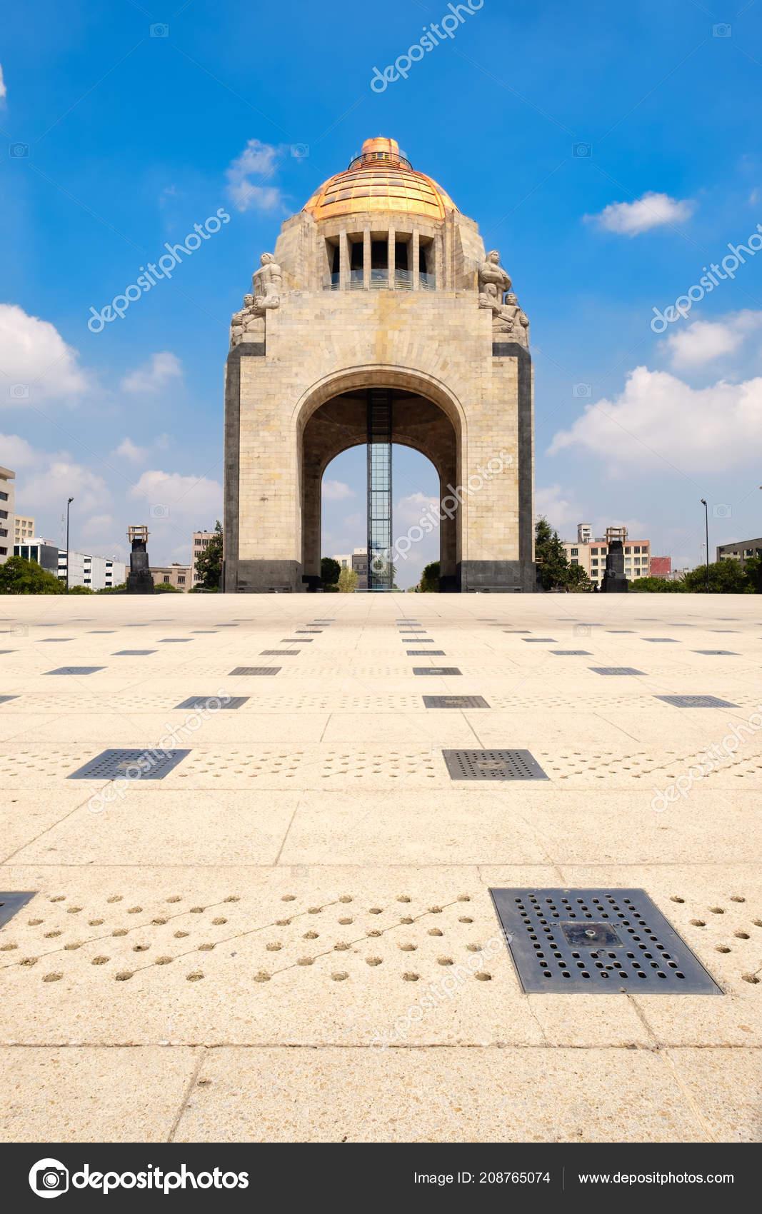 Monument Revoiution Mexico City Symbol Mexican Capital Foto De
