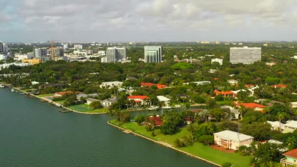 Waterfront Luxury Homes Miamiu2013 Stock Footage