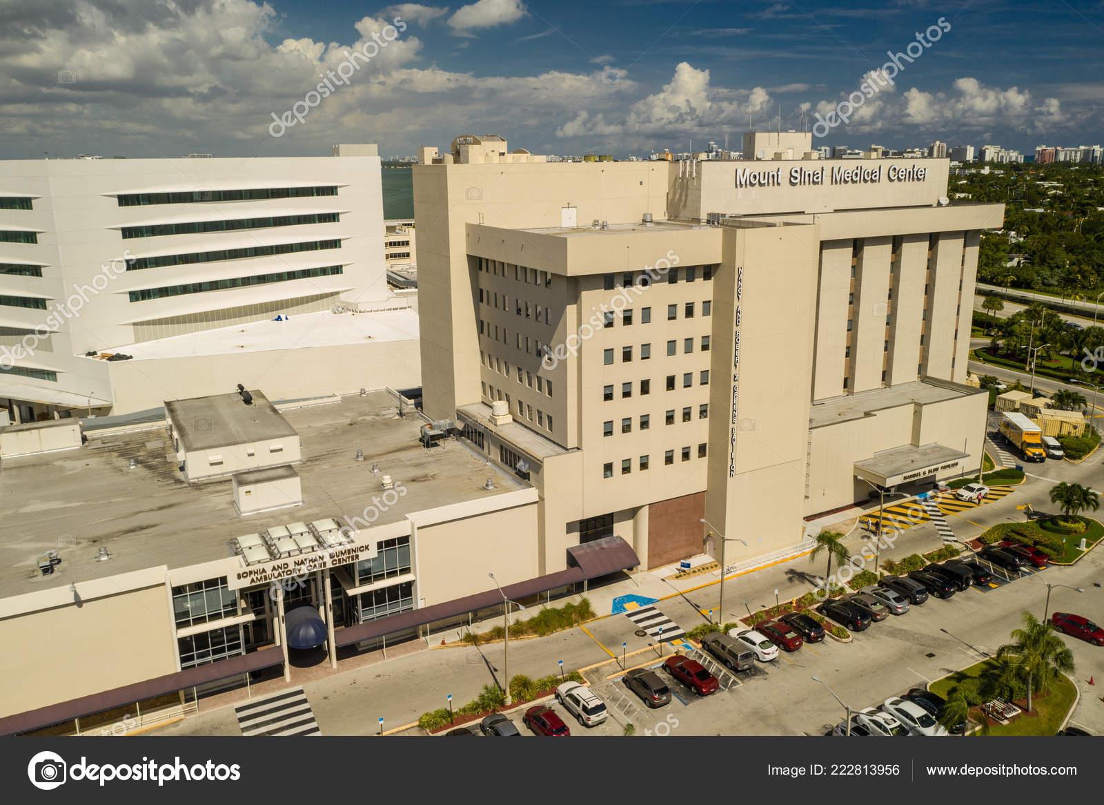 Aerial Photo Sinai Medical Center Hospital Miami Beach