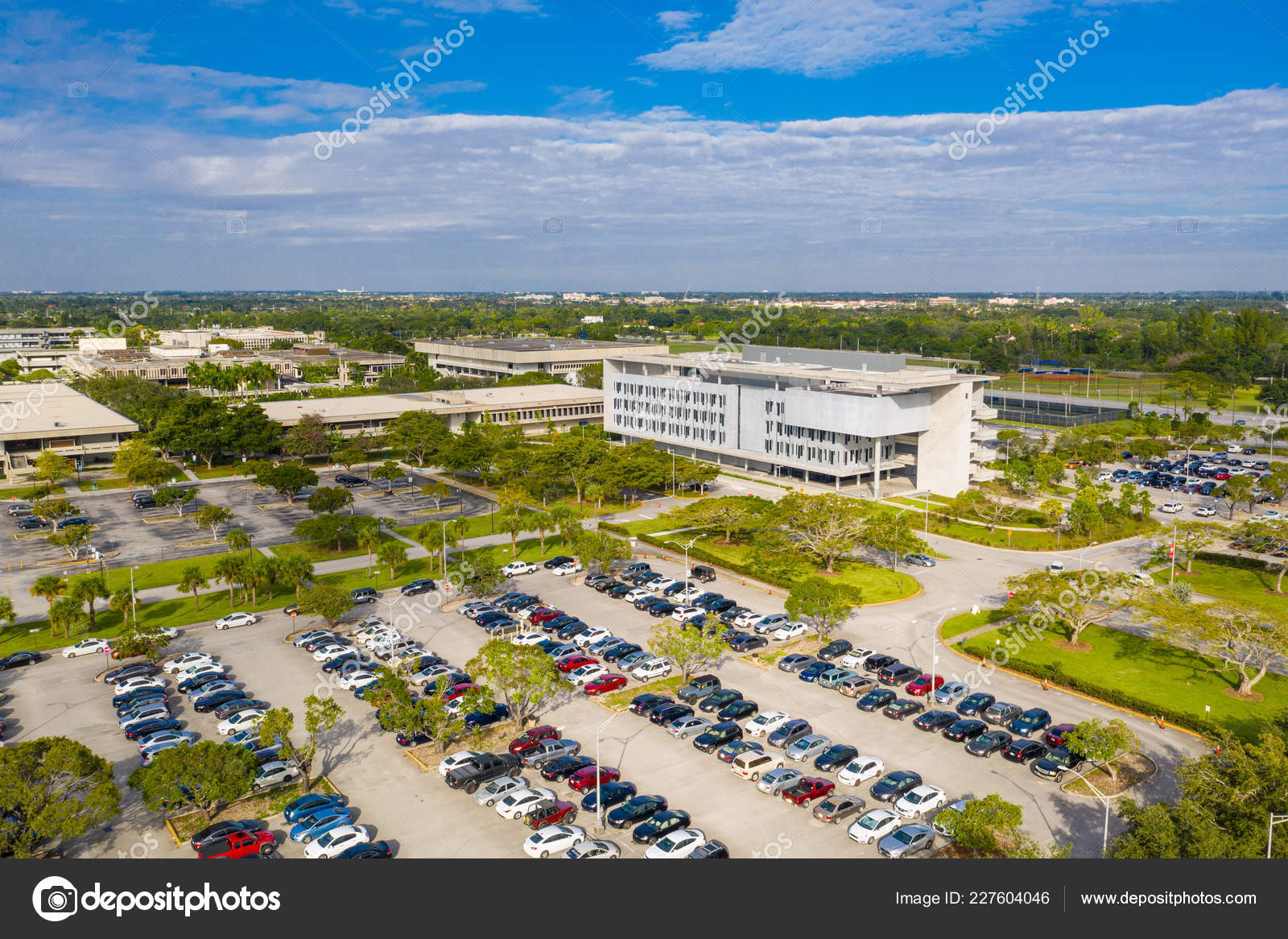 Aerial Photo Miami Dade Community College Mdcc Kendall