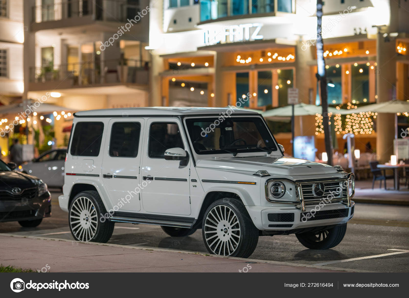 Mercedes G Wagon Luxury Suv Vehicle Stock Editorial Photo C Felixtm 272616494