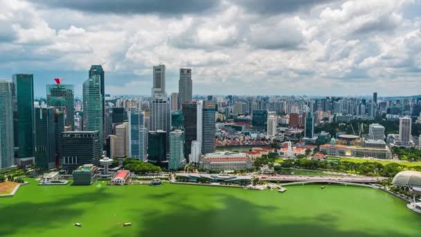 Timelapse of the SIngapore skyline