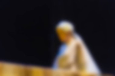 Theatre play theme blur background