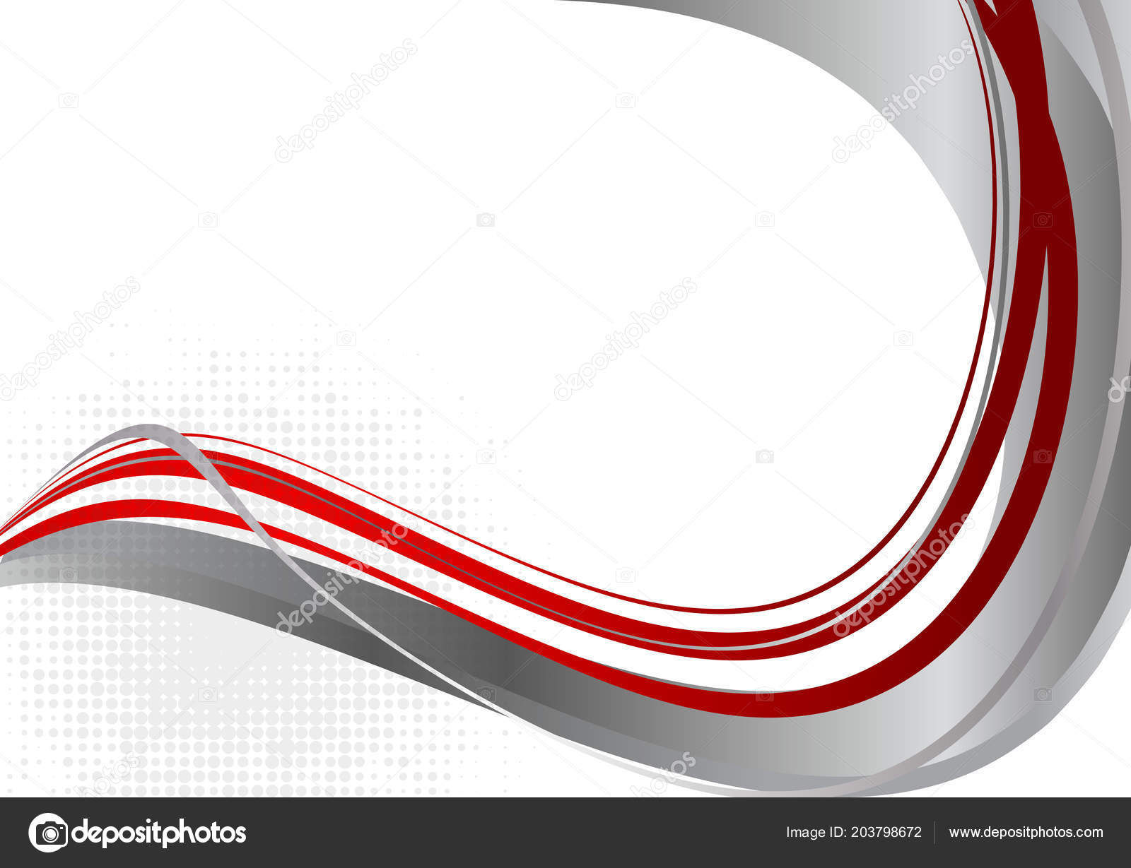 Background Wave Red And Gray Wave Red Gray Color Abstract