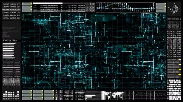 Kommunikációs technológia és a kapcsolat futurisztikus felhasználói felület head-up display. Felszerelt-a Nasa föld elem