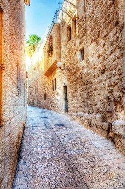 A street in Jewish Quarter, Jerusalem