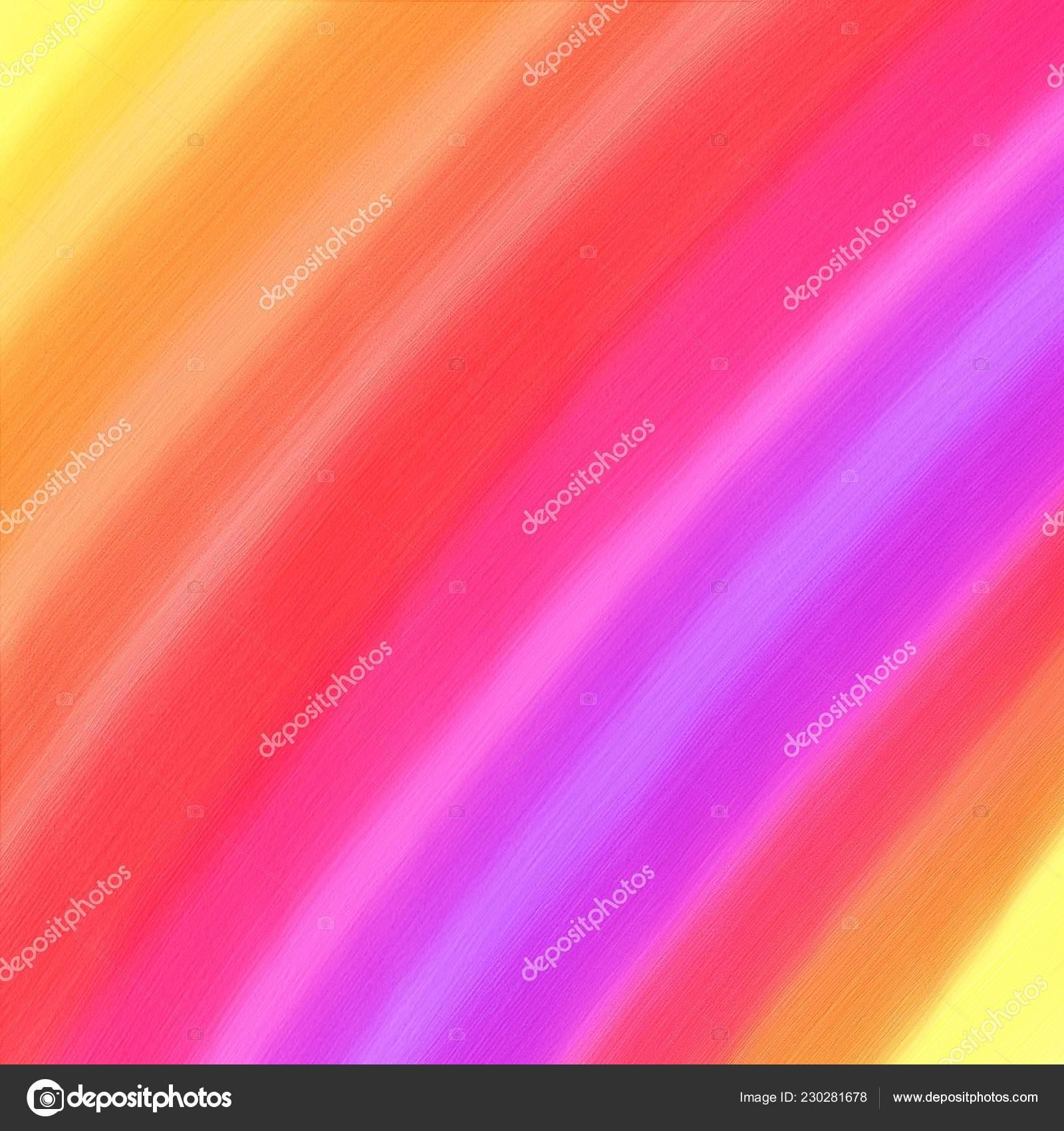 063305c1a629 Fondo Acuarela Digital Colorido Brillante Con Rayas Naranja Rosado Púrpura  — Fotos de Stock