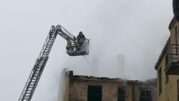 Silueta hasič protipožárních