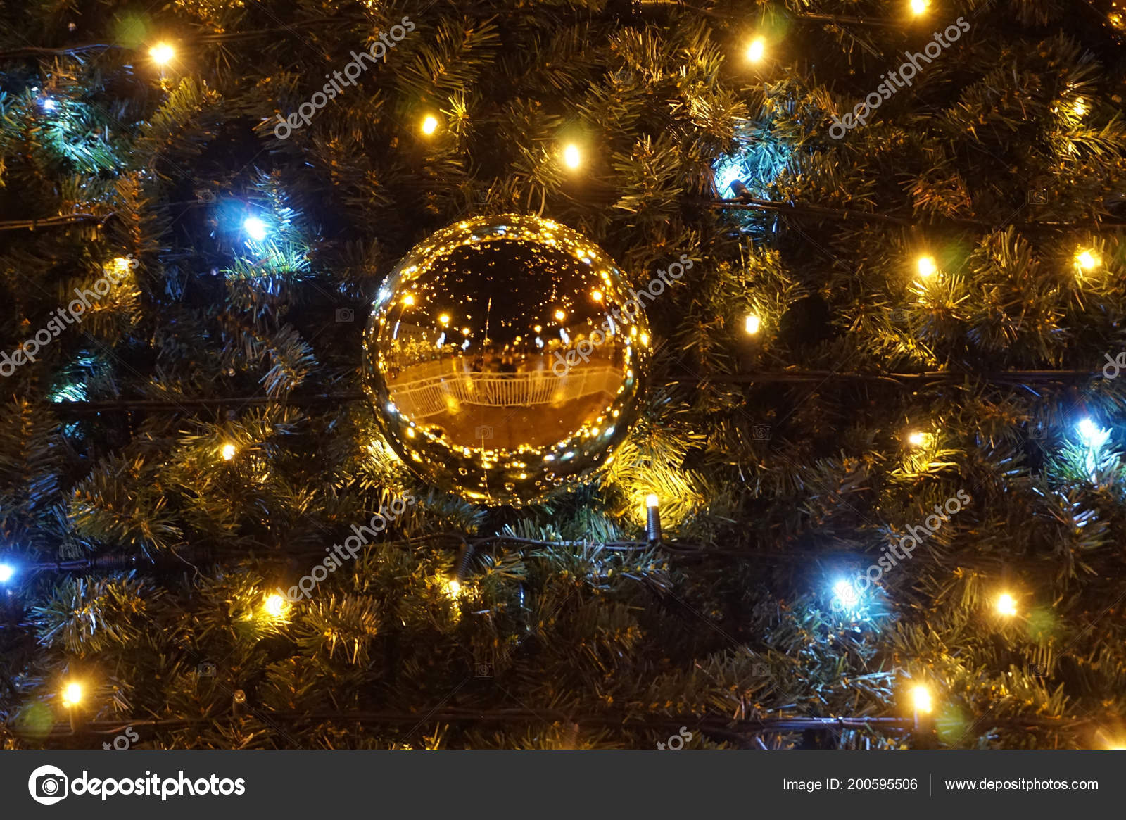 color christmas lights texture as very nice background photo by jonnysek