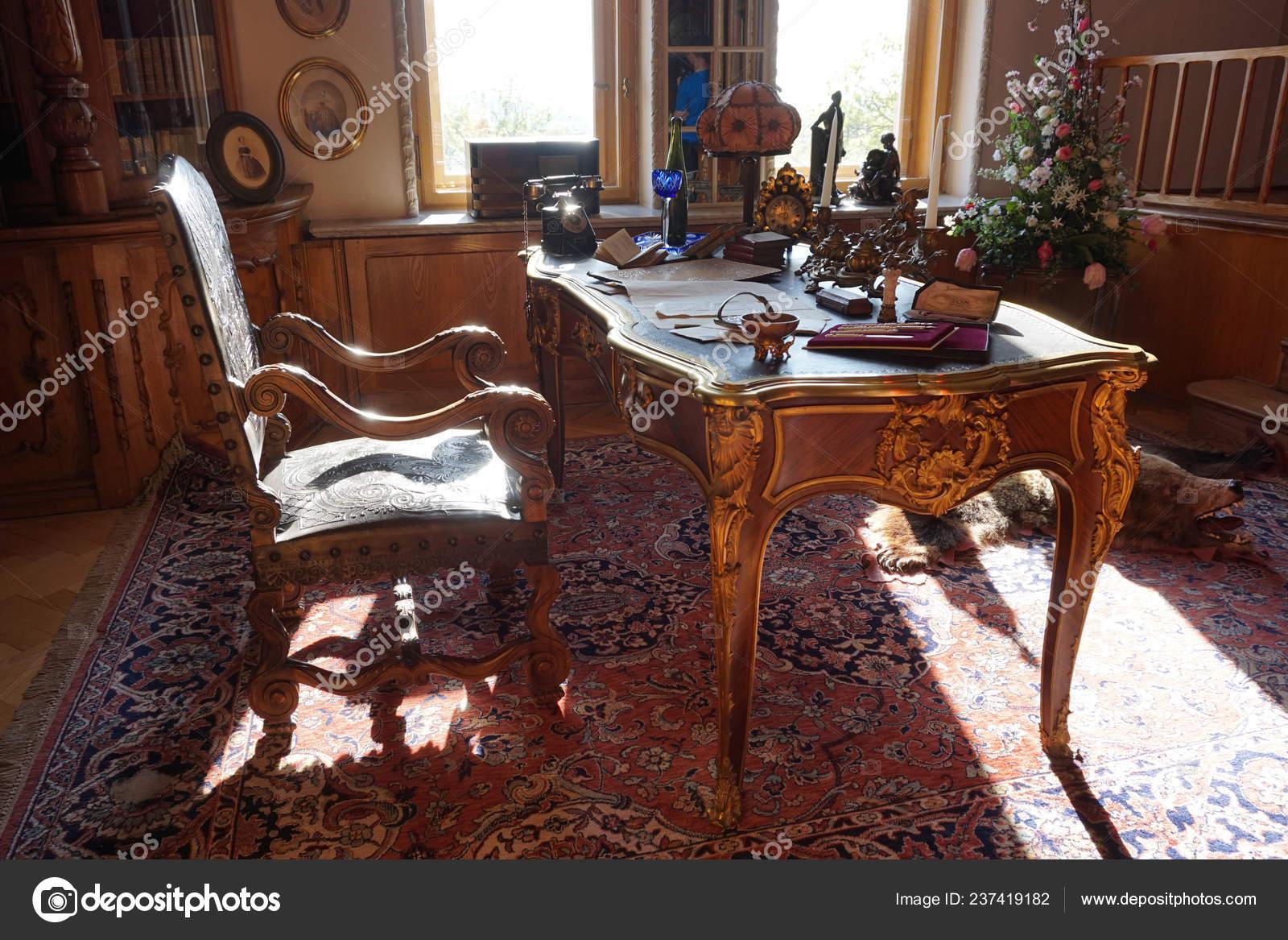 Old Office Interior Very Nice Background Stock Photo C Jonnysek 237419182