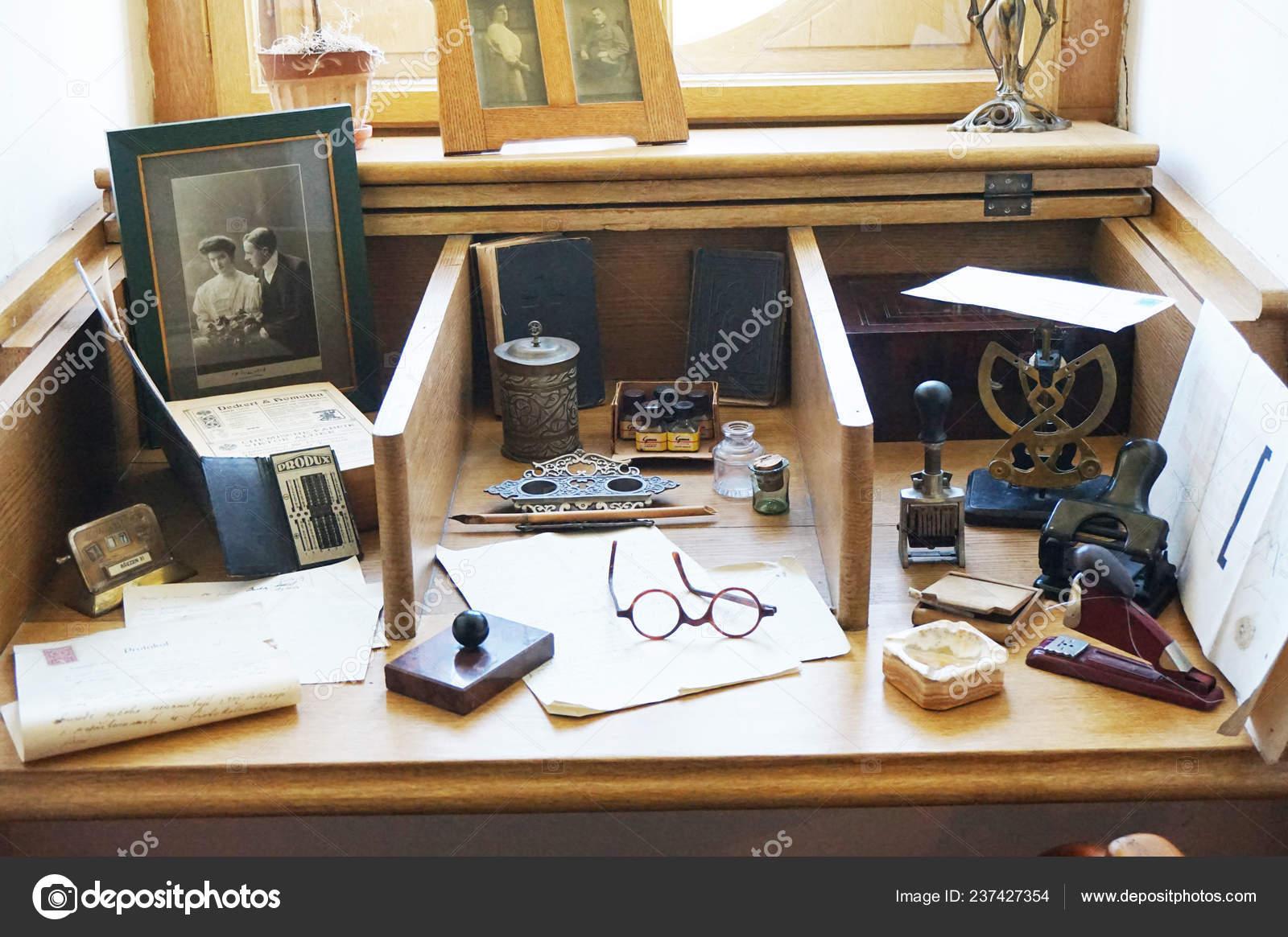 Old Office Interior Very Nice Background Stock Photo C Jonnysek 237427354