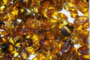 amber mineral texture