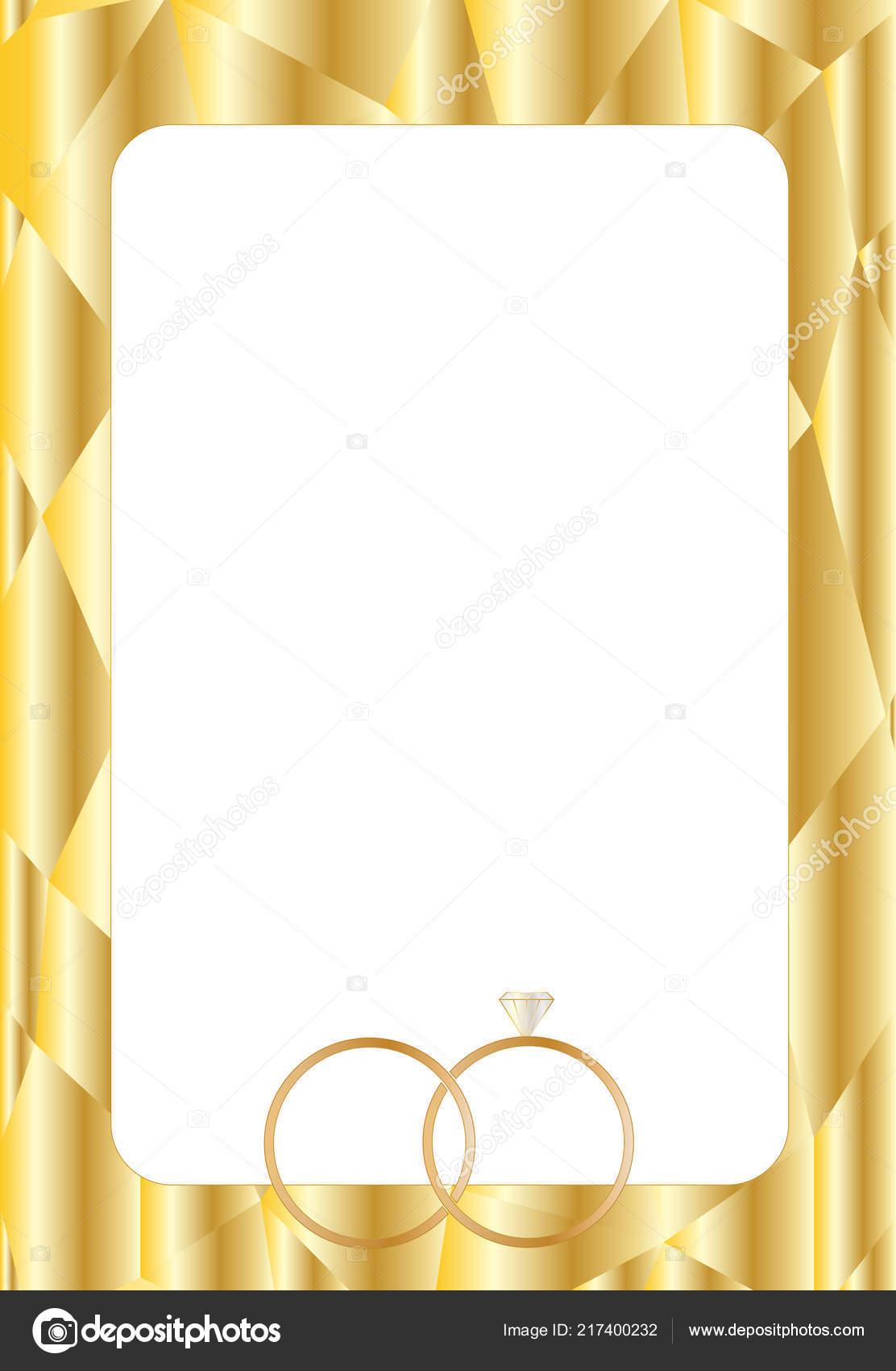 Dise o plantillas dise o para tarjetas boda con anillos - Disenos tarjetas de boda ...