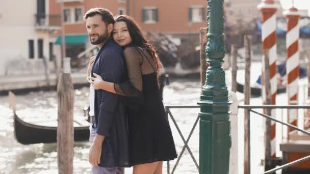 Love - romantic couple in Venice, Italy