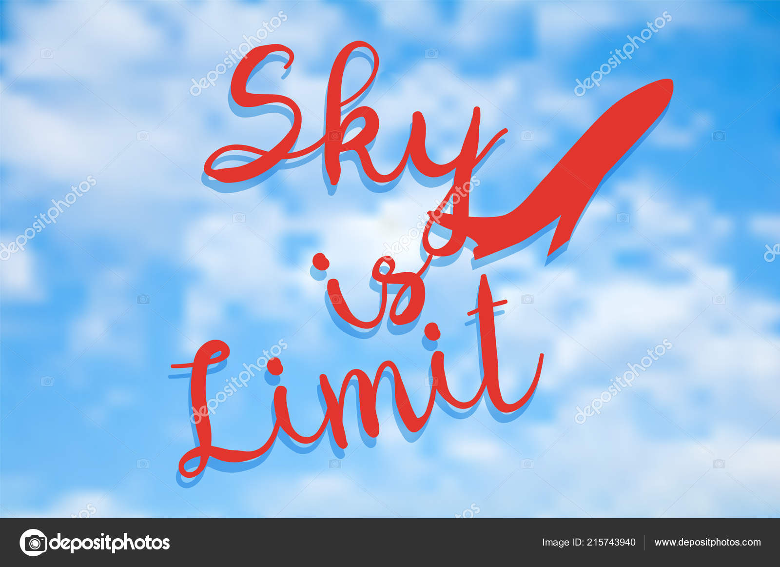 sky limit quote sky limit inspiring creative motivation quote