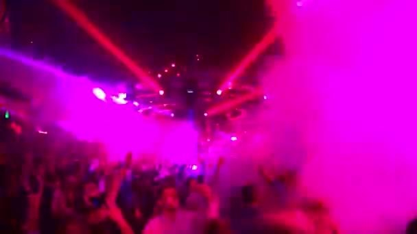 People dancing in Omnia night club