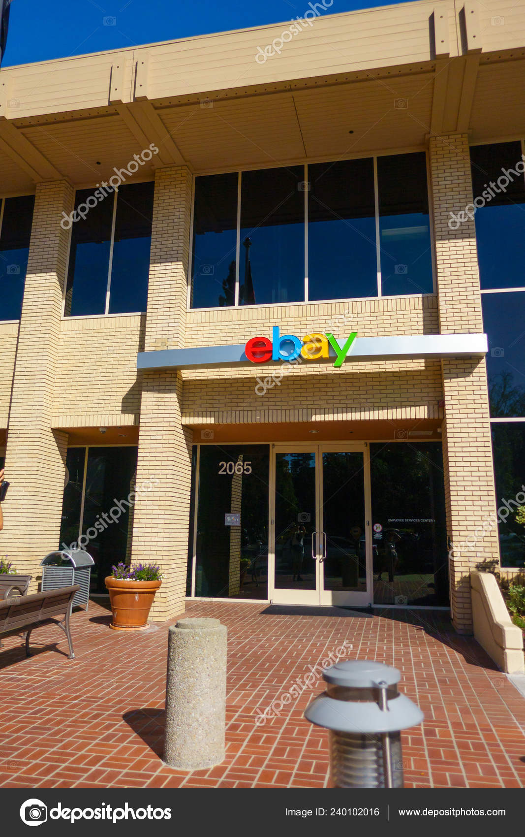 Ebay Company Headquarters In Silicone Valley Outdoors Stock Editorial Photo C Toxawww 240102016
