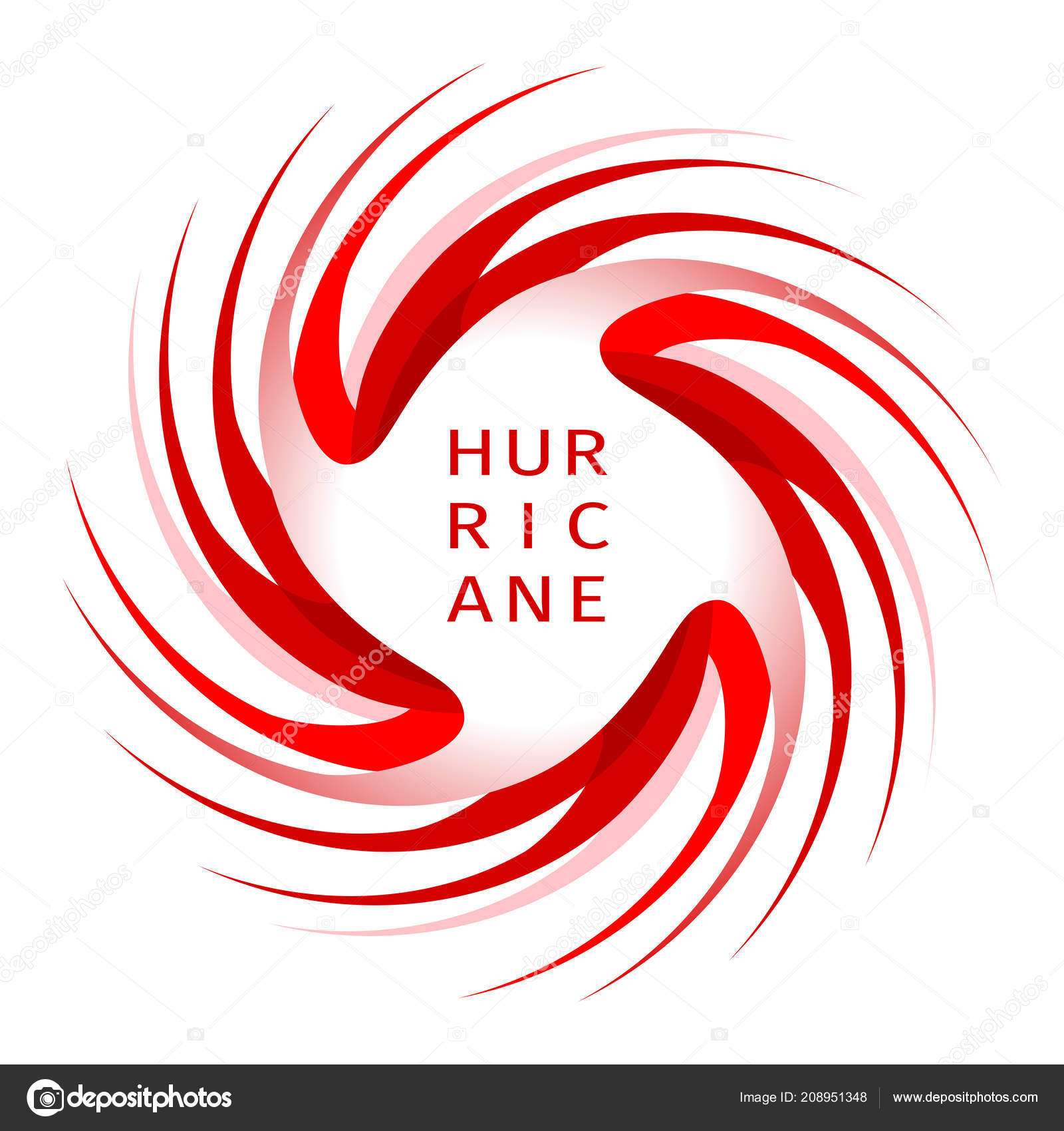 Graphic Banner Of Hurricane Warning Stock Vector Ivn3da 208951348