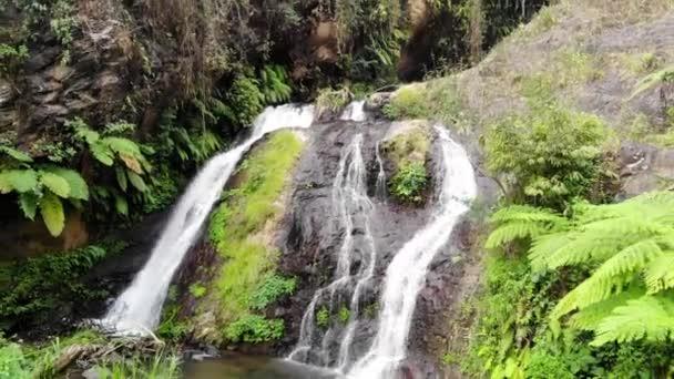 Amazing waterfall on tropical island in Bali. 1920x1080
