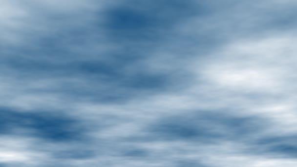 Obloha s mraky počasí příroda mrak modrý