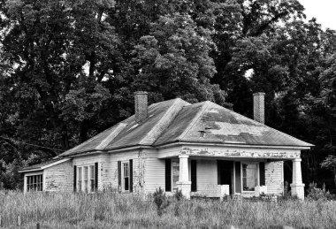 An Abandoned Run Down Farmhouse