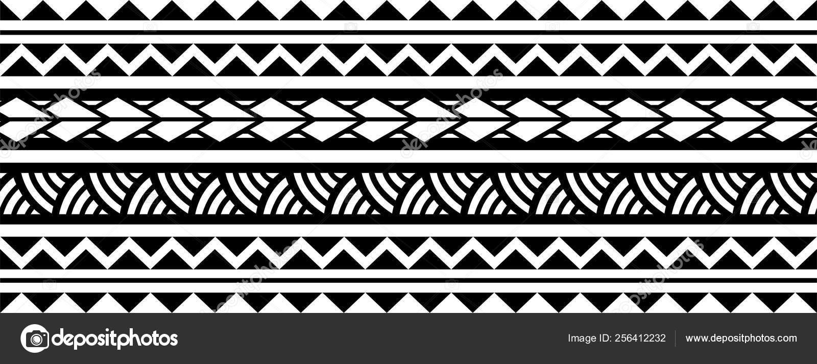 Tribal Leg Band Tattoo Designs