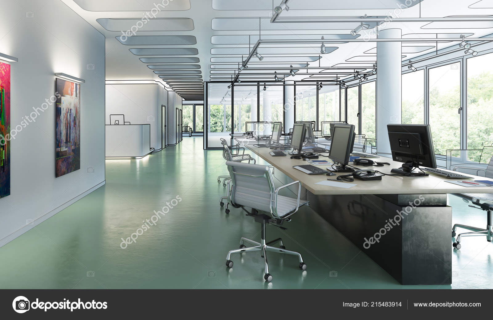 Office Furnishing Conception U2014 Stock Photo