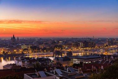Budapest: morning blue hour
