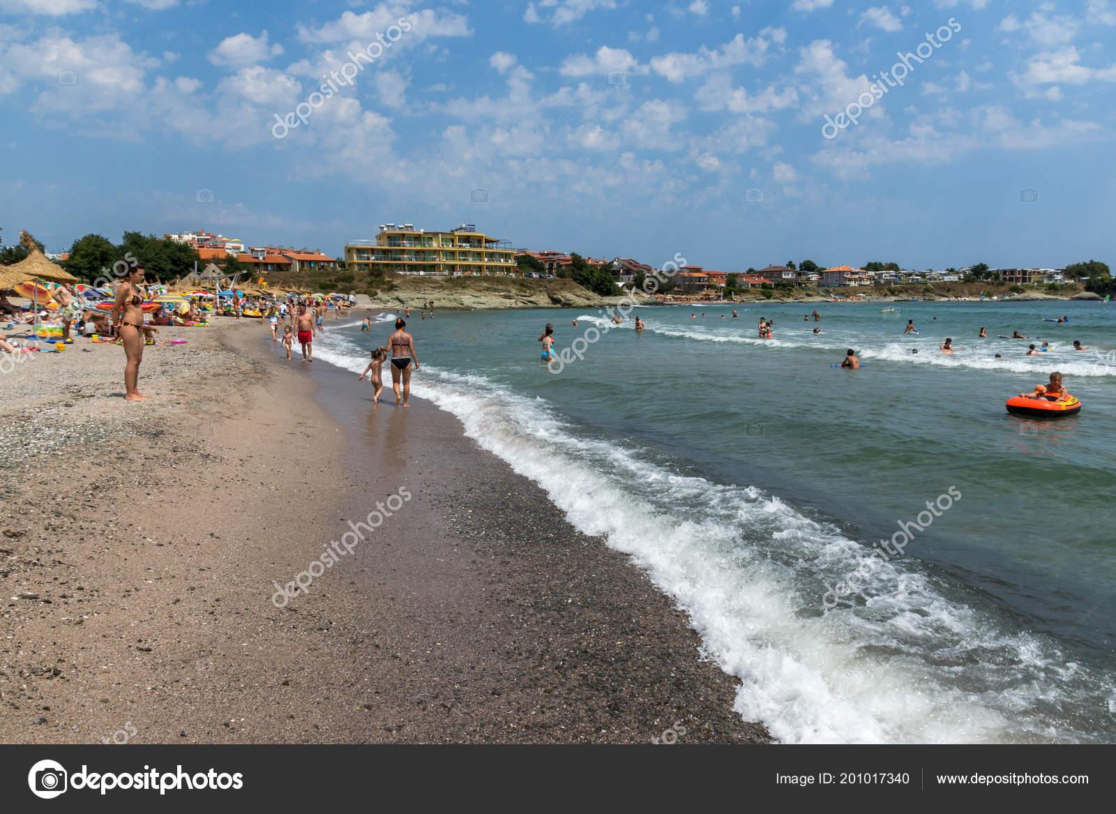 Arapya Bulgaria June 2013 Panoramic View Arapya Beach Town Tsarevo