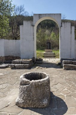 Ruins of Round (Golden) Church  of St. John near The capital city of the First Bulgarian Empire Great Preslav (Veliki Preslav), Bulgaria