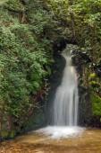 Landscape of First Gabrovo waterfall cascade in Belasica Mountain, Novo Selo, Republic of Macedonia