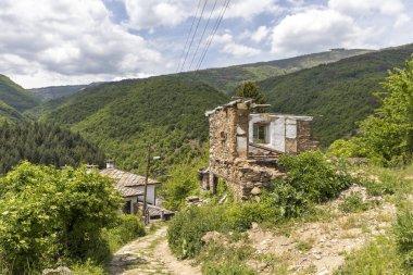 Kosovo Village with nineteenth century houses, Plovdiv Region, Bulgaria