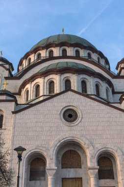 Cathedral Church of Saint Sava in city of Belgrade, Serbia