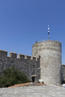 Fortress in city of Kavala, Greece