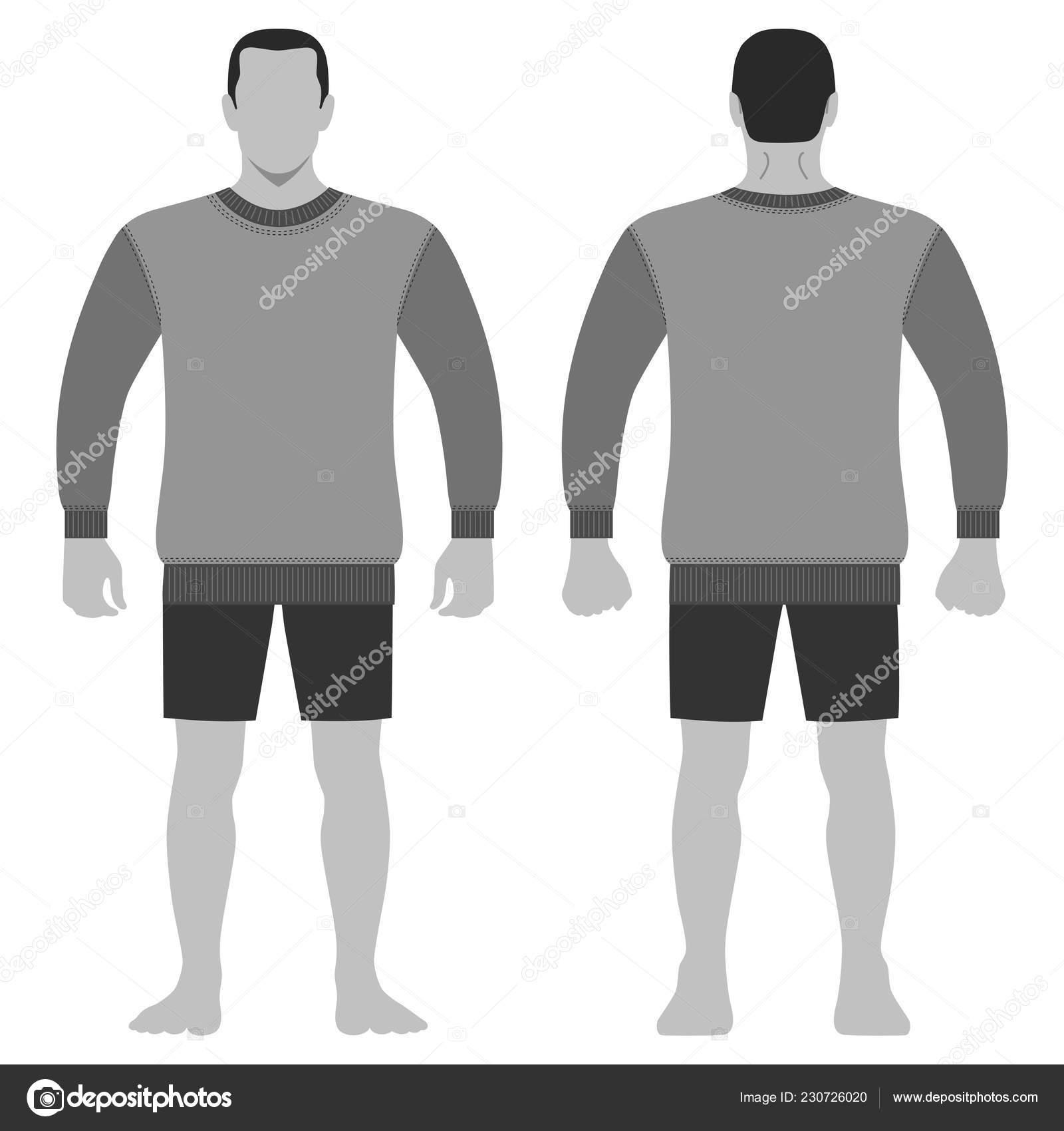 Moda Shirt Uomo Integrale Modello Sagoma Pantaloncini Figura Corpo 8POkn0w