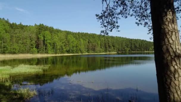 gyönyörű tó légifelvételek