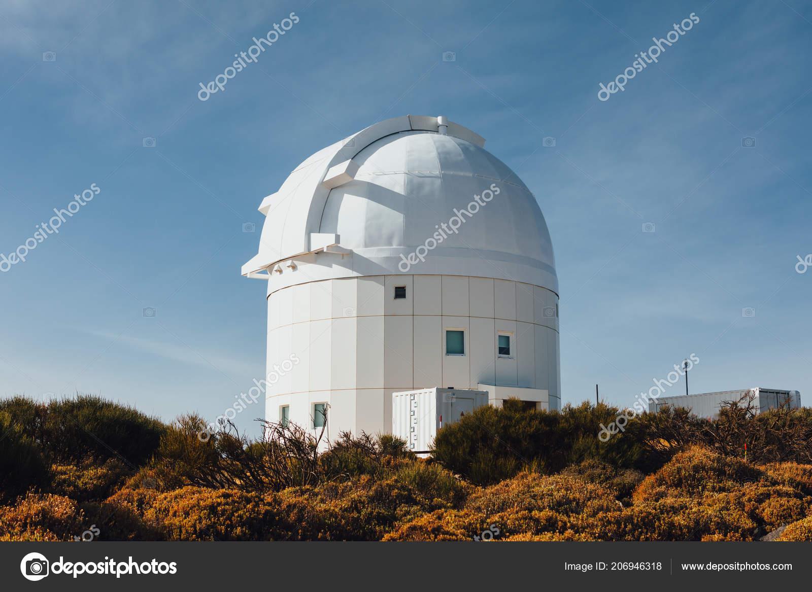Teide observatorium astronomische teleskope teneriffa kanarische