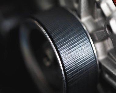 belt drive of car alternator