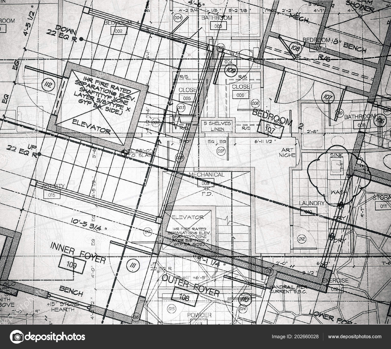 Groovy Abstract House Plans Layered Stock Photo C Davincidig Download Free Architecture Designs Embacsunscenecom