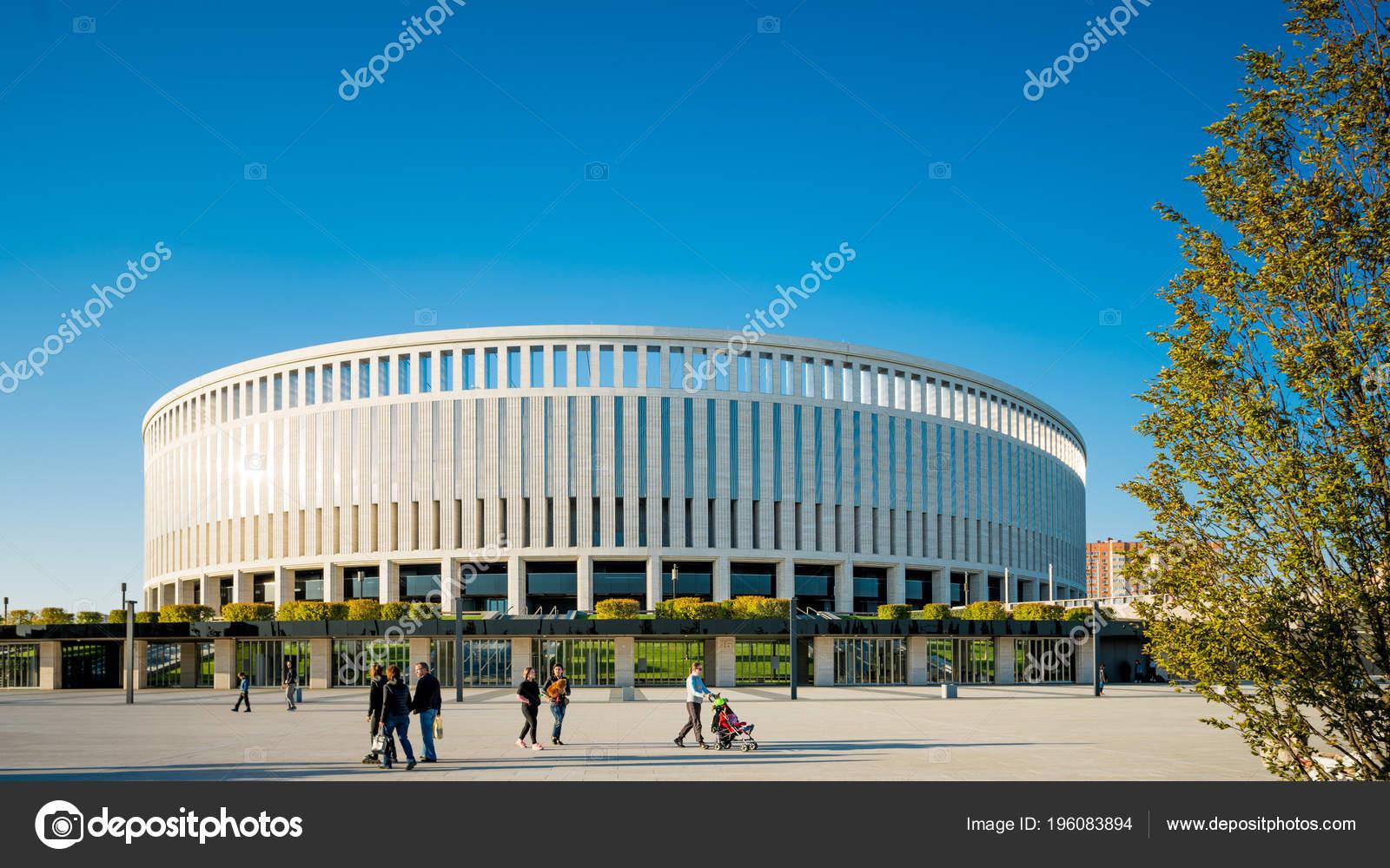 Krasnodar Russia September 2017 Football Stadium Krasnodar Stadium Krasnodar Stock Editorial Photo C Ewastudio 196083894