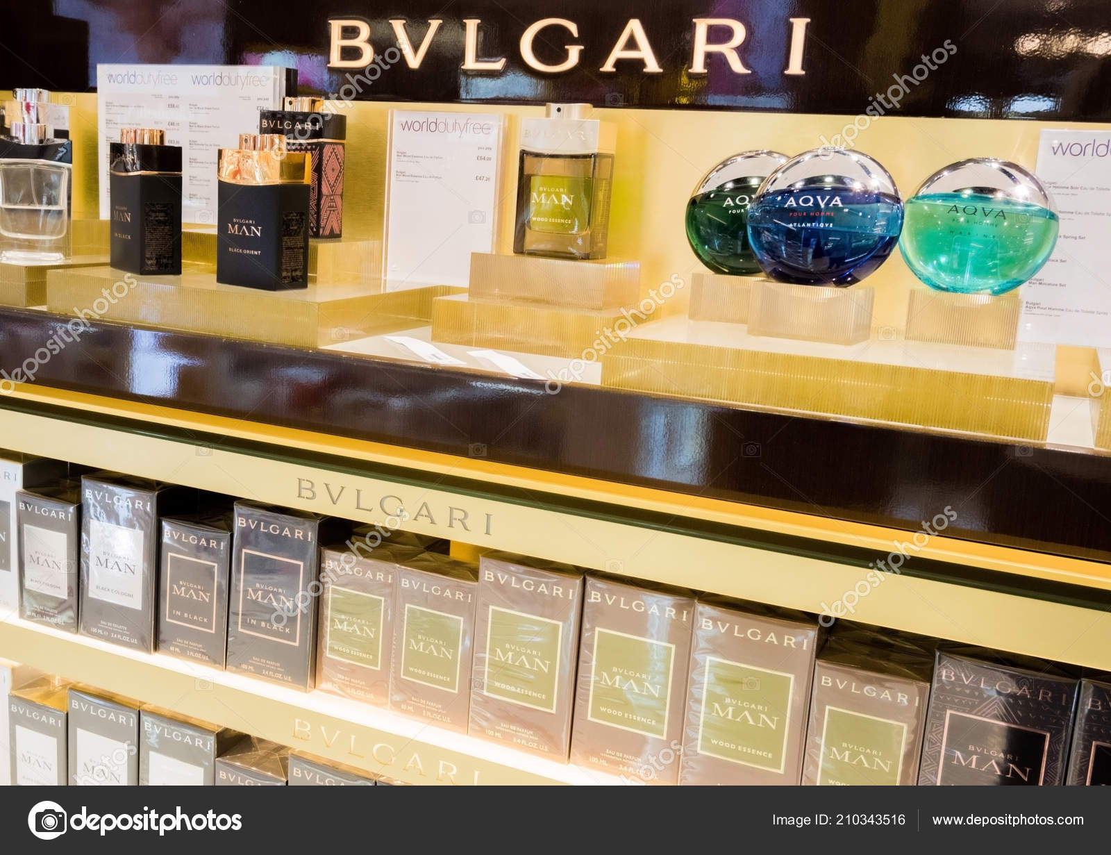 London August 2018 Bvlgari Perfume Cosmetic Makeup Luxury Collection