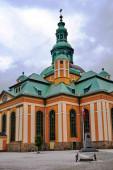 Bývalý luteránský kostel v barokním slohu v Jelenia Gora