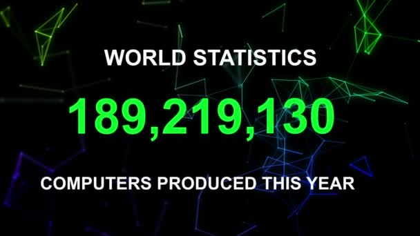 Computers produced this year stats