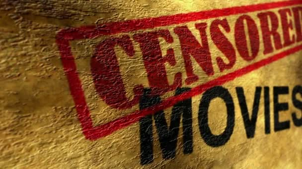 Koncept grunge cenzuroval filmy