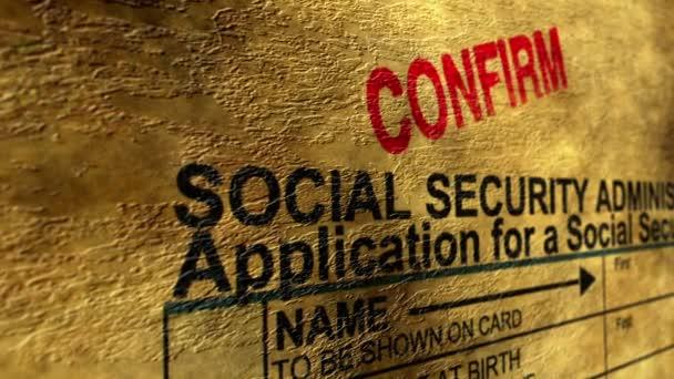 Sociální zabezpečení potvrzení koncepce grunge