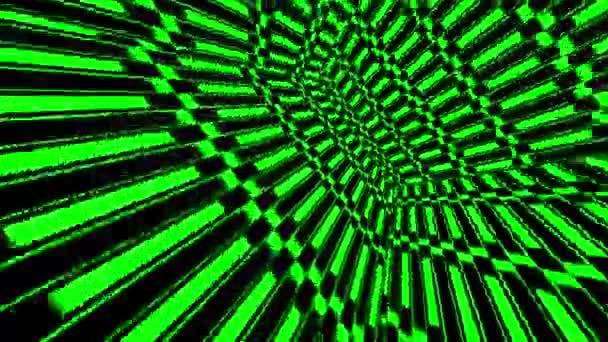 Neon zelená světla kostky pozadí